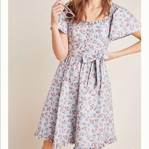Anthropologie Marianna Floral Dress
